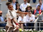 Roger Federer wurde seiner Favoritenrolle gerecht (Bild: KEYSTONE/EPA/CAROLINE BLUMBERG)
