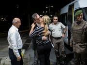 Gürsel bei seiner Freilassung aus der Untersuchungshaft im September 2017. (Bild: KEYSTONE/EPA CUMHURIYET NEWSPAPER/KURTULUS ARI / CUMHURIYET HAND)
