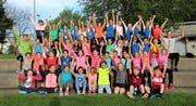 Der Leichtathletik-Nachwuchs des KTV Wil freut sich auf das Heimmeeting auf dem Lindenhof.