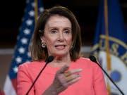 Legt sich mit dem US-Justizminister an: Nancy Pelosi, demokratische Vorsitzende des US-Repräsentantenhauses. (Bild: KEYSTONE/AP/J. SCOTT APPLEWHITE)
