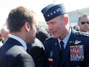 Der US-amerikanische Luftwaffengeneral Tod D. Wolters ist der neue Oberbefehlshaber der Nato. Er begann seine Militärkarriere als Kampfpilot. (Bild: KEYSTONE/AP POOL/MICHEL EULER)
