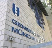 Das Münchwiler Gemeindehaus soll eine Sanierung erhalten. (Bild: ZVG)