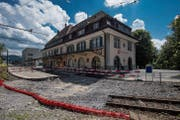 Im Juni beginnt der Umbau des Bahnhofs. Die Petition will das verhindern. (Bild: Benjamin Manser)