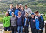 Die Elite-Schwimmer vom SC Flös Buchs präsentierten sich im Wettkampf in Biel von ihrer besten Seite und kehrten mit zahlreichen Podestplätzen nach Hause. (Bild: PD)