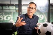 Seit knapp eineinhalb Jahren ist Matthias Hüppi der Präsident des FC St.Gallen. (Bild: Ralph Ribi)