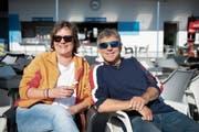 Barbara Meissen und Thomas Urben wollen künftig auch Anlässe in der Badi Gossau durchführen. (Bild: Ralph Ribi (2. Mai 2019))