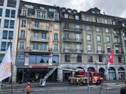 Ursache des Brandes in Lausanne war ein Ventilator. (Bild: Keystone-ATS)