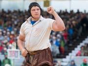 Nick Alpiger gewinnt im eigenen Verband das Baselstädische Fest (Bild: KEYSTONE/URS FLUEELER)