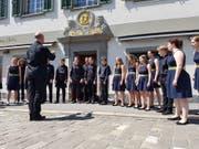 Der Jugendchor der Musikschule Pfannenstiel Meilen. (Bild: Nathalie Ehrenzweig/Luzerner Zeitung)