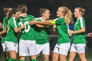 Die Frauen des FC St.Gallen-Staad bejubelten in der laufenden Saison bereits 19 Siege. (Bild: Michel Canonica / Tagblatt)