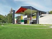 Ein architektonisches Vermächtnis: der Pavillon Le Corbusier in Zürich. (Bild: Christian Beutler/KEY)