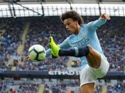 Ein begehrter Mann: der deutsche Internationale Leroy Sané vom englischen Meister Manchester City (Bild: KEYSTONE/AP/RUI VIEIRA)