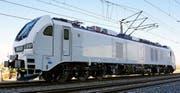 Die sechsachsige Hybrid-Lokomotive Eurodual von Stadler. (Bild: PD)