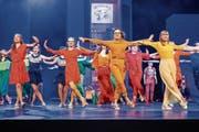 Voicesteps inszenieren «High School Musical» im Theater Casino. (Bild: Patrick Hürlimann, Zug, 31. Mai 2019)