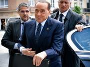 Der italienische Medienkonzern Mediaset und der deutsche Fernsehkonzern ProSiebenSat.1 streben nun offenbar doch keine europaweite Fernseh-Allianz an. (Bild: KEYSTONE/EPA/SASCHA STEINBACH)