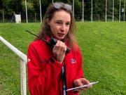 Maria Scheidegger arbeitet ehrenamtlich am CSIO. (Bild: Christa Kamm-Sager)