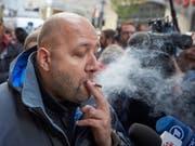 Cannabis-Joints sind in Kanada seit Oktober legal: Der persönliche Marihuana-Besitz ist auf 30 Gramm beschränkt. (Bild: KEYSTONE/EPA/ANDRE PICHETTE)