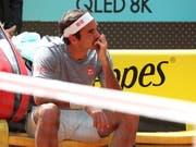 Roger Federer spielt erstmals seit 2016 ein Sandturnier (Bild: KEYSTONE/EPA EFE/KIKO HUESCA)