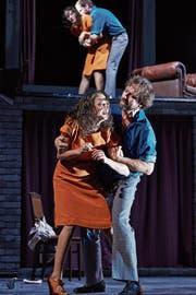 Die Zürcher «Amphitryon»-Inszenierung von Karin Henkel wurde 2014 zum Berliner Theatertreffen eingeladen. (Bild: Matthias Horn)