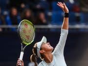 Belinda Bencic steht in Madrid in der 2. Runde (Bild: KEYSTONE/TI-PRESS/ALESSANDRO CRINARI)