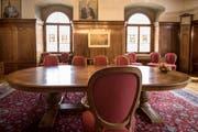 Neu können Paare aus St.Gallen auch im Bürgerratssaal im Stadthaus heiraten. (Bild: Adriana Ortiz Cardozo)