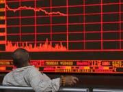 Trump-Tweet schickt Börsen auf Talfahrt. (Bild: KEYSTONE/AP/NG HAN GUAN)