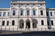 Das Bundesstrafgericht in Bellinzona. (Bild: Keystone/Alessandro Crinari)
