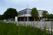 Das Firmengebäude der Galledia Regionalmedien in Berneck. (Bild: Monika von der Linden)