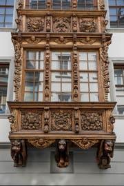 Erker aus Holz sind in Rorschach und St.Gallen zu finden.