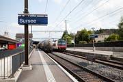 Die S8 fährt von Sursee, via Zofingen und Olten neu via Aarau, Brugg bis Turgi. (Bild: Manuela Jans-Koch, 26. Juni 2013)