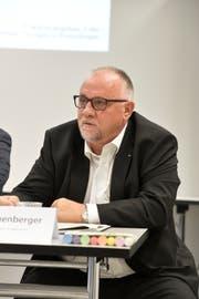 Heinz Leuenberger, Präsident der Volksschulgemeinde Erlen. (Bild: Donato Caspari)