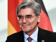 Siemens-Chef Joe Kaeser will seine Öl- und Gas-Sparte ausgliedern und das gesamte Geschäft mit der Energiebranche bis September 2020 an die Börse bringen. (Bild: KEYSTONE/EPA/FILIP SINGER)