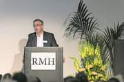 Felix Graf, Verwaltungsratspräsident der RMH Regionalmedien AG, an der Generalversammlung im Casino Luzern. (Roger Grütter, 7. Mai 2019)