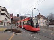 Geplant ist der Bau der Doppelspur durch Teufen. Nun ist aber die Tunneldiskussion neu aufgeflammt. Wie wird die Bahn künftig die Gemeinde durchqueren? (Bild: APZ)