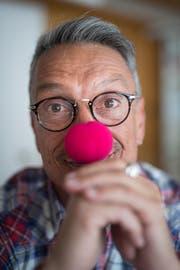 Trotz Schaumgumminase: Rolf Kern ist kein Clown.