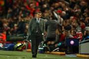 Bittere Pille für Barcelona und Trainer Ernesto Valverde. (Bild: AP Photo/Dave Thompson, 7. Mai 2019)