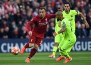 Xherdan Shaqiri schaffte mit Liverpool im Halbfinal-Rückspiel gegen Barcelona die Wende. (Bild: EPA/NEIL HALL, 7. Mai 2019)