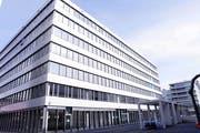 Der Siemens-Sitz in Zug. (Bild: Werner Schelbert, 4. Juli 2018)