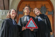 Die Pfarrpersonen der evangelisch-reformierten Kirchgemeinde Straubenzell halten im Mai keine Predigt. (Bild: PD)
