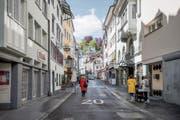 Die Stadt will die Metzgergasse im nächsten Jahr pflästern. Anwohner kritisieren aber die Art und Weise. (Bild: Adriana Ortiz Cardozo)