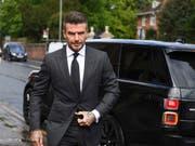 Ex-Fussballstar David Beckham muss für ein halbes Jahr auf seinen Führerschein verzichten. (Bild: KEYSTONE/AP PA/VICTORIA JONES)