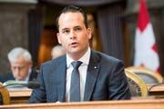 Der FDP-Ständerat Damian Müller sagt, die Post solle sich auf ihren Leistungsauftrag konzentrieren. (Bild: Anthony Aney/KEY)