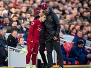 Xherdan Shaqiri und Jürgen Klopp treten mit Liverpool als Favorit zum Champions-League-Final gegen Tottenham Hotspur an (Bild: KEYSTONE/EPA/PETER POWELL)