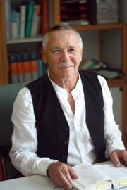 Dr. med. Peter Liffler, Chefarzt der Kinderklinik Bellevue auf der Insel Fehmarn