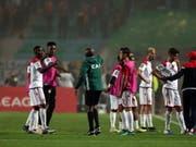 Endlose Diskussionen führten im Final-Rückspiel der afrikanischen Champions League zu einer 90 Minuten langen Unterbrechung (Bild: KEYSTONE/EPA/MOHAMED MESSARA)
