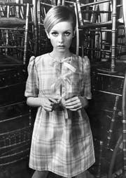 Twiggy, britisches Model, aufgenommen am 17. Februar 1967. (Bild: KEY)