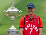 Rory McIlroys kindliche Freude nach dem Sieg in Kanada (Bild: KEYSTONE/AP The Canadian Press/ADRIAN WYLD)