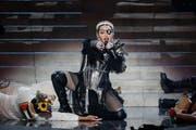 Madonna, hier auf der Bühne des diesjährigen Eurovision Song Contests in Tel Aviv. (Bild: Getty Images)