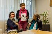 Setzen sich in Ausserrhoden für die Rechte der Frauen ein: Lucie Waser, Katharina Kobler-Kunzmann und Annegret Wigger. (Bild: Claudio Weder)