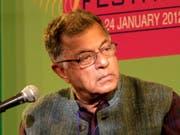 Der renommierte indische Schauspieler, Dramatiker und Filmemacher Girish Karnad ist im Alter von 81 Jahren gestorben. (Bild: KEYSTONE/AP/MANISH SWARUP)